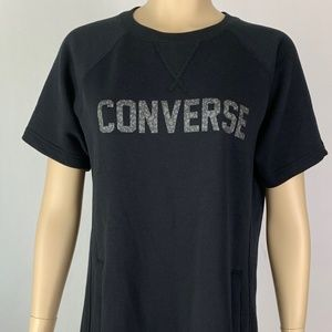 New Converse Sweatshirt Dress-M